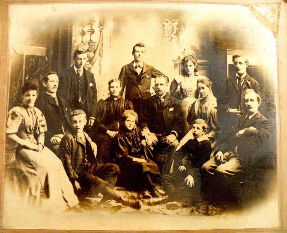 The Broadbent family c 1890